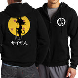 Dragon Ball Z Goku Sweatshirt For Men Clothing Zip Hoody - ZSHOPIT