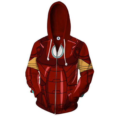 Iron Man Superhero Hoody Jacket - ZSHOPIT