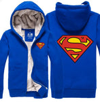 Superman Hoodie Superhero  Jacket High quality Sweatshirt - ZSHOPIT