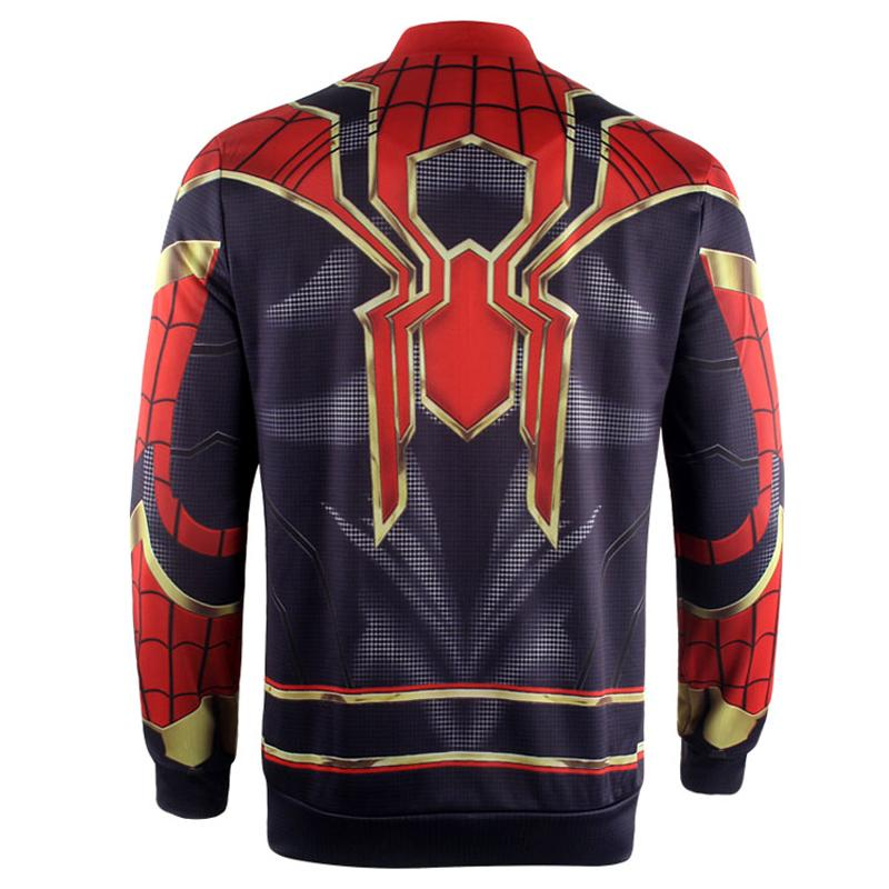 Avengers 3 Infinity War Iron Spider Jacket Zipper Superhero - ZSHOPIT