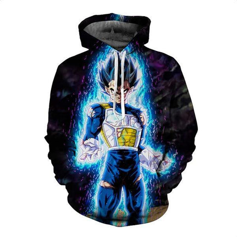 Dragon Ball Z Super Vegeta 3d Men Harajuku Style - ZSHOPIT