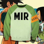 Android 17 Sweatshirt Hoodie T-Shirt Ranger MIR - Dragon Ball Super - ZSHOPIT