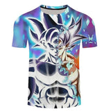Dragon Ball Goku Vegito Broly T Shirt 3d Ultra Instinct - ZSHOPIT