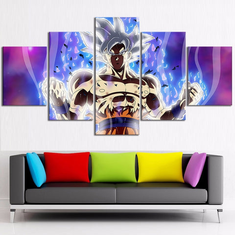 Mastered Ultra Instinct Goku Decor Poster Dragon Ball Super - ZSHOPIT