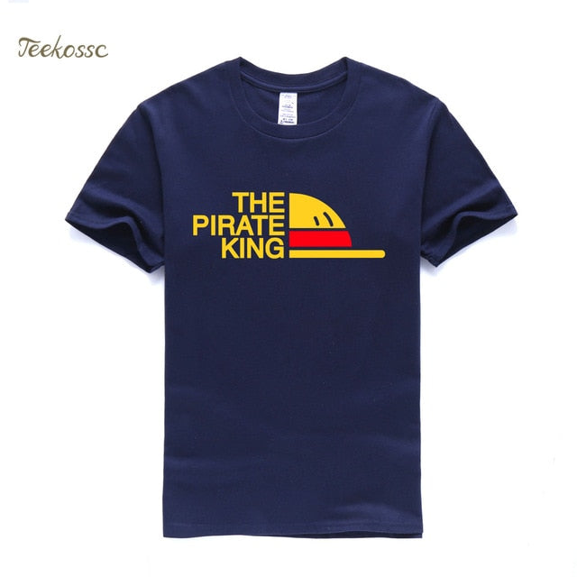 New One Piece Luffy T-Shirt The Pirate King - ZSHOPIT