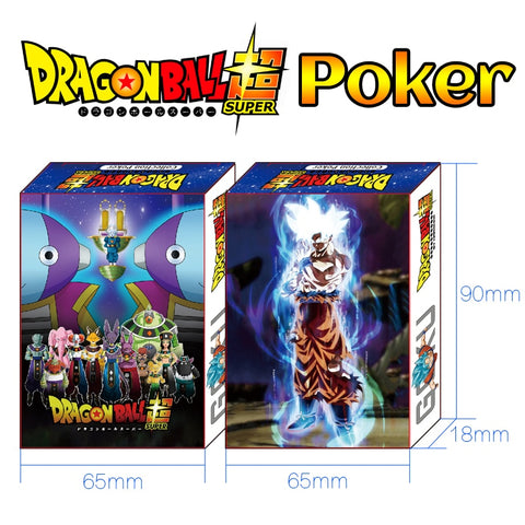 Dragon Ball Super Collection Poker Cards - ZSHOPIT