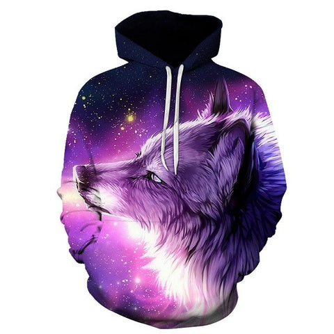 New Wolf Hoodie 3D for Men and Women - ZSHOPIT