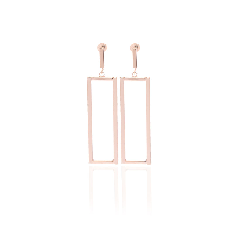 Be Bold Rectangle Earrings