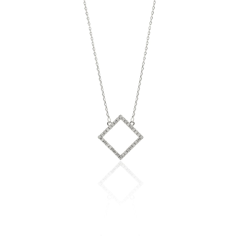Deco Square Necklace