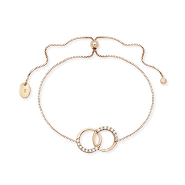 Interlocking Circles Bracelet