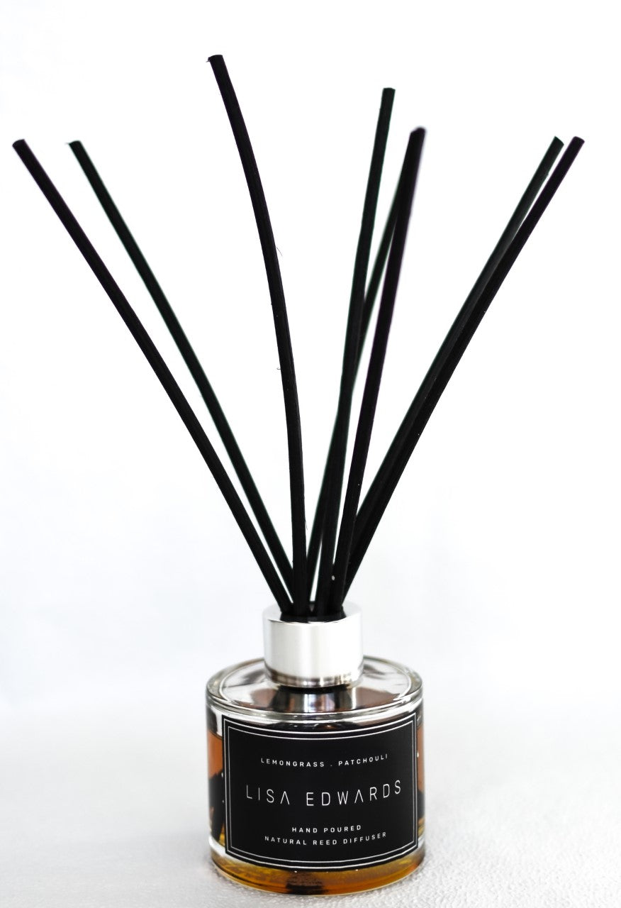Lemongrass & Patchouli Reed Diffuser
