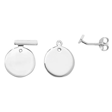 Circle Jacket Earrings