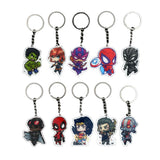 Cute Anime DC Marvel Key Chains - DCMarvel.Store