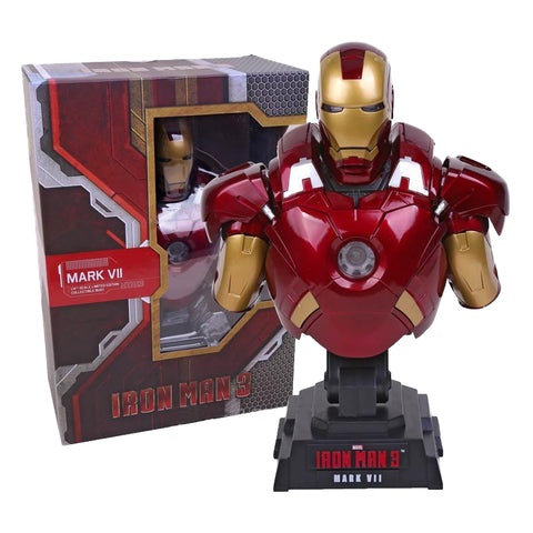 Iron Man 3 MARK VII Bust Statue with LED Light - DCMarvel.Store