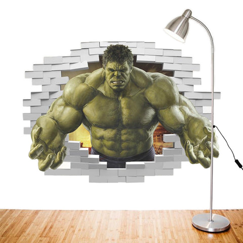 The Incredible Hulk Wall Decor - DCMarvel.Store