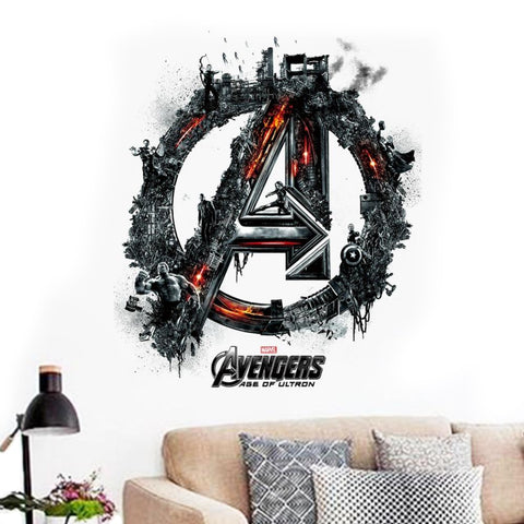 Avengers Wall Decal - DCMarvel Store