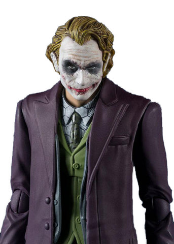Joker Heath Ledger from The Dark Knight Action Figure 15.5cm - DCMarvel.Store
