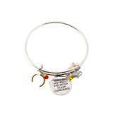 "Wonder Woman ""I do freely and with Clear Conscience"" Charm Bracelet - DCMarvel.Store"