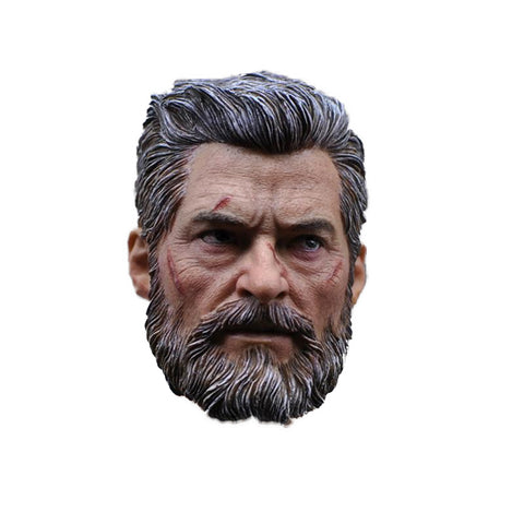 1/6 Wolverine Logan Final Battle Head Sculpt - DCMarvel.Store