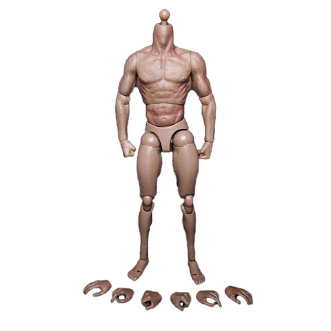 1/6 Scale Male Muscular Body Wolverine Action Figure - DCMarvel.Store