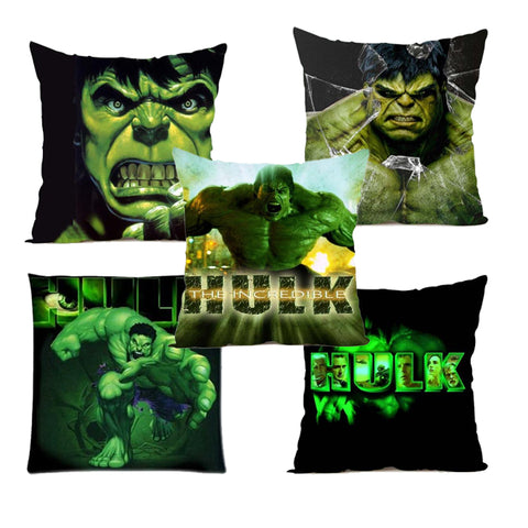The Avengers Superheroes Satin Pillow Cover Both Sides Printing - DCMarvel.Store