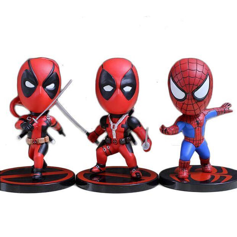 Spider-man vs Deadpool Mini Figure - DCMarvel.Store