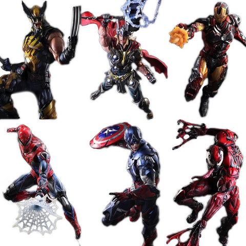Marvel Superheroes Play Arts KAI Action Figure - DCMarvel.Store
