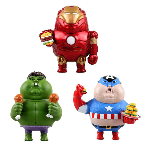 The Fatty Avengers Figure - DCMarvel.Store