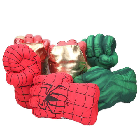 Marvel Superhero Boxing Stuffed Gloves - DCMarvel.Store