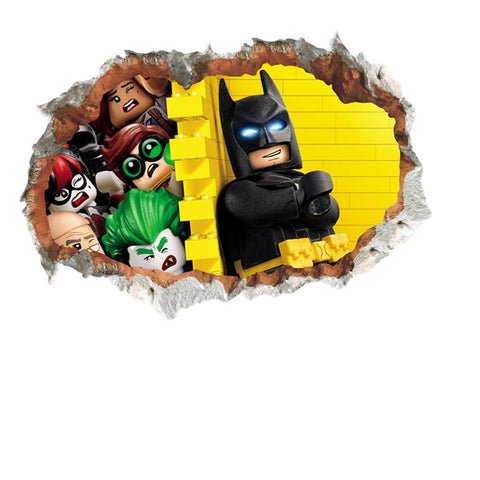 Funny Batman 3D Wall Decal - DCMarvel.Store