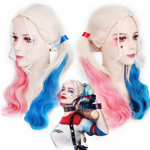 Harley Quinn Cosplay Wig - DCMarvel.Store