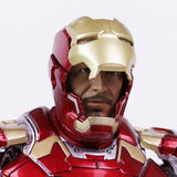 Iron Man Mark 43 Action Figure 30cm with LED Light - DCMarvel.Store