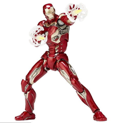 Iron Man Mark XLV Figma Action Figure Collectible Model Toy 15cm - DCMarvel.Store