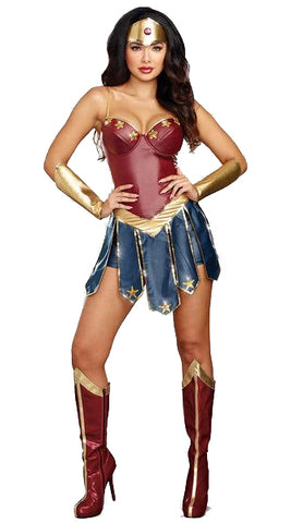 Wonder Women Cosplay Costume - DCMarvel.Store