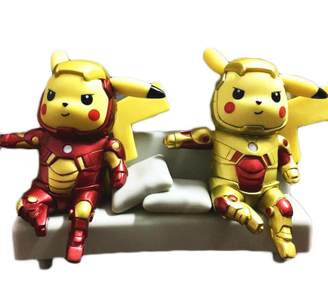 Pikachu cosplay Iron Man Figure Limited Edition 13cm - DCMarvel.Store