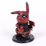 Pikachu Deadpool and Captain America Mini Figure - DCMarvel.Store