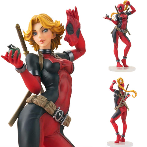 Lady Deadpool Action Figure Limited Edition 22cm