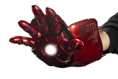 1:1 Iron Man MK7 Electric Arm Gauntlet Hand Armor - DCMarvel Store