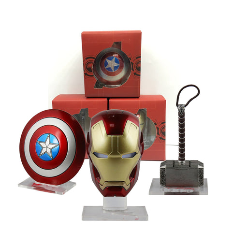 Avengers Mini Weapons Toys with LED Light Set