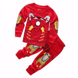 Super Heroes Cotton Pajamas for Children - DCMarvel.Store