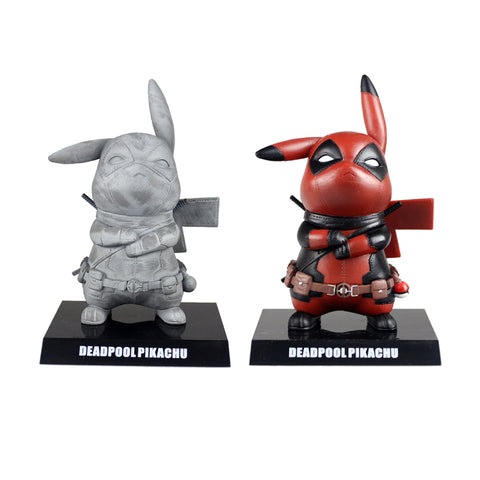 Cute Deadpool Pikachu Limited Edition Figure 15cm - DCMarvel.Store