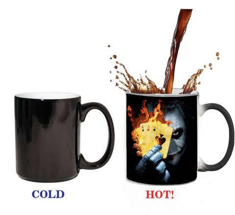 DC Marvel Heroes Amazing Hot Transformer Mug - DCMarvel Store