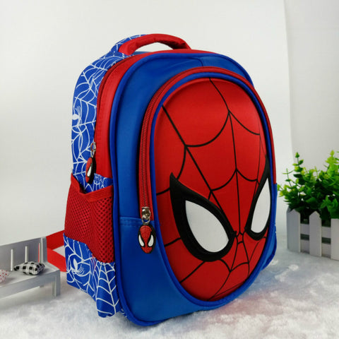 Spider Man 3D Waterproof Backpack for Children - DCMarvel Store