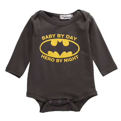Batman Long Sleeve Onesies for Baby - DCMarvel.Store