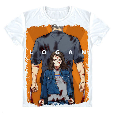 Wolverine Logan and Laura T-Shirt Unisex - DCMarvel.Store