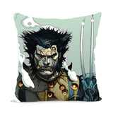 X-men Wolverine Satin Throw Pillow Cover - DCMarvel.Store