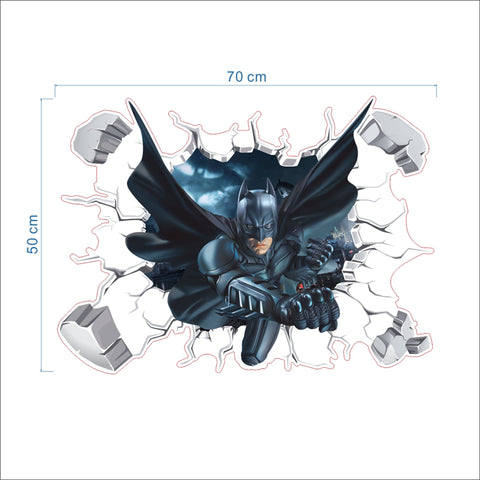 Batman 3D Wall Decal - DCMarvel.Store