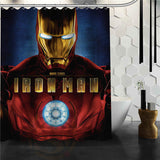 DC Marvel Hero Bath Curtain - DCMarvel.Store