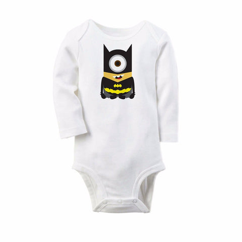 DC Marvel Super Heroes Onesies for Newborn Baby - Minion Edition - DCMarvel Store