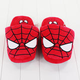 DC Marvel Hero Plush Home Slippers One Size 28cm - DCMarvel.Store